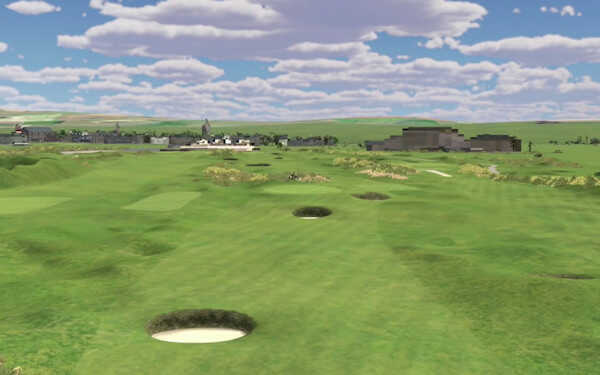 Play St Andrews New Course on simulator in Paris
