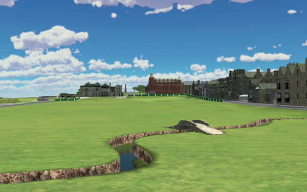 Play St Andrews Old Course on simulator in Paris