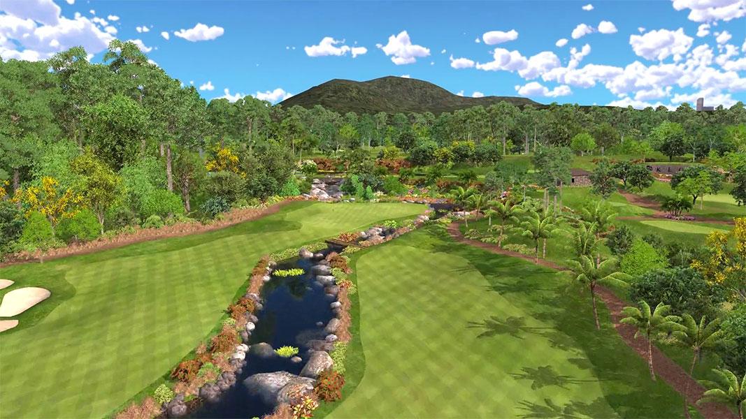 Golf en Ville - Les plus beaux parcours sur simulateur