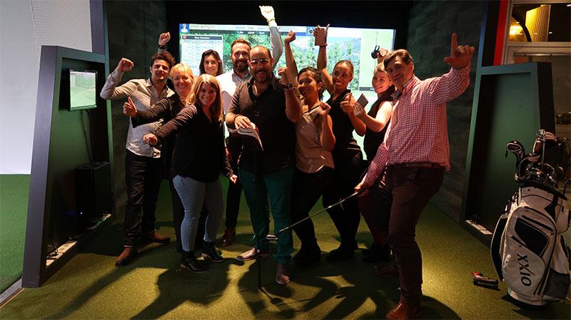 Golf en Ville - Réunion entre amis