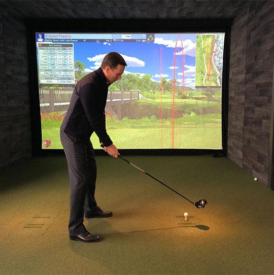 Golf en Ville - Simulateurs de golf