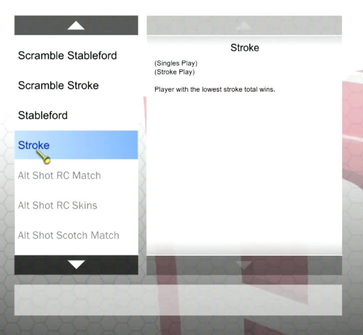 Golf scoring systems on our simulators | Golf en Ville