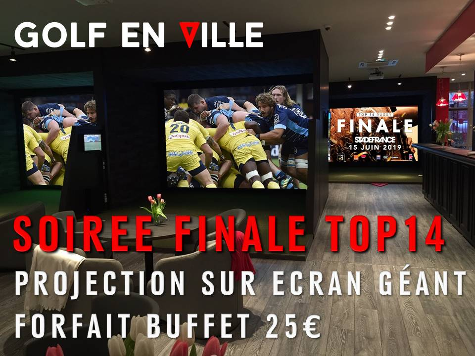 Projection finale TOP 14 le 15 juin 2019