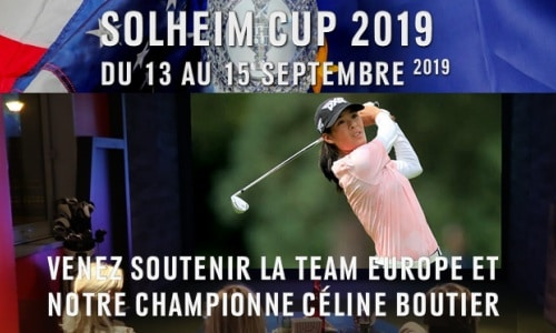 evenementiel golf paris indoor compétition solheim cup