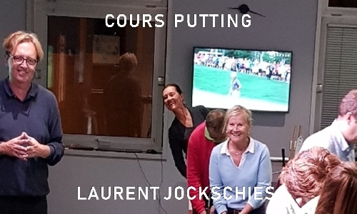 Cours collectif de putting de Laurent Jockschies mardi 7 avril 2020