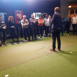 Soirée golfiteurs putting