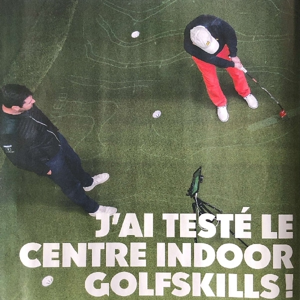 Article centre golf indoor