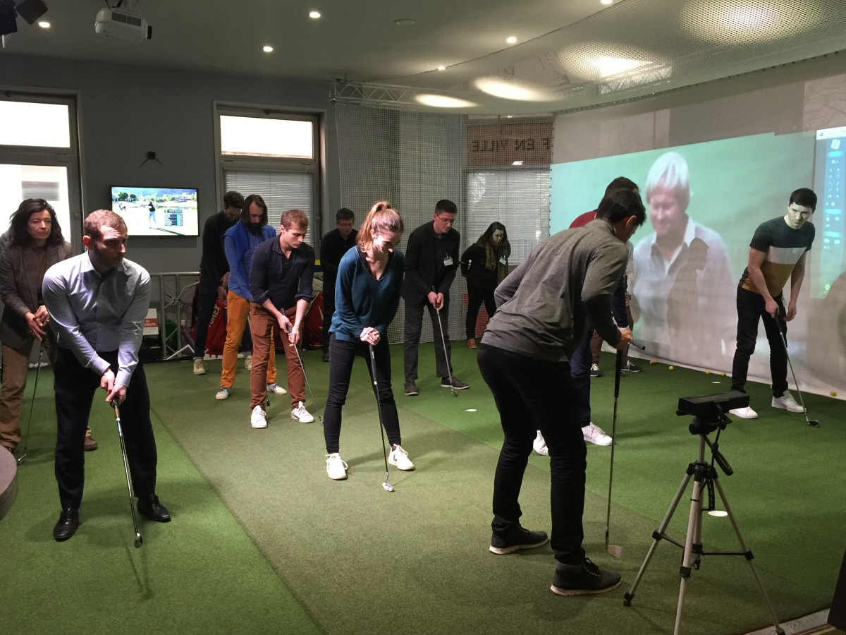 Evenement Seminaire Animation Golf