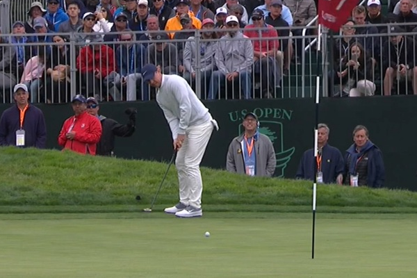Rory McIlroy at Pebble Beach US Open 2019