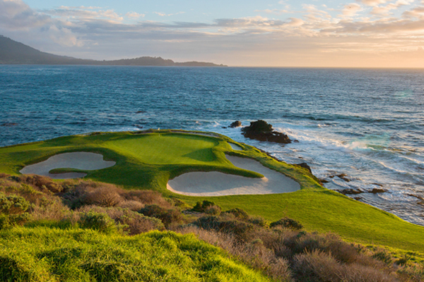 Pebble beach trou 7