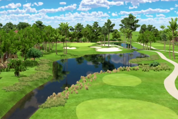 PGA National sur simulateur