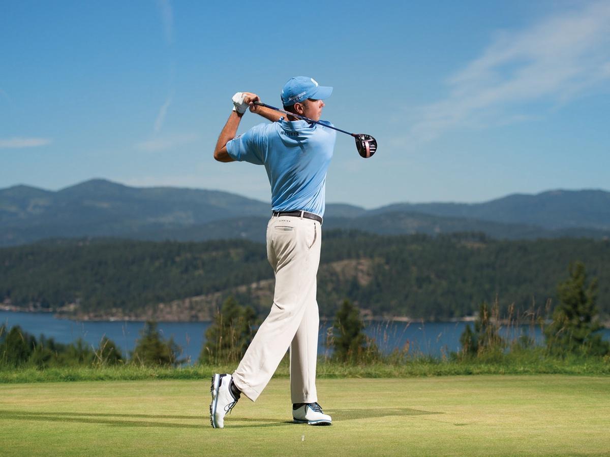 joueur golf