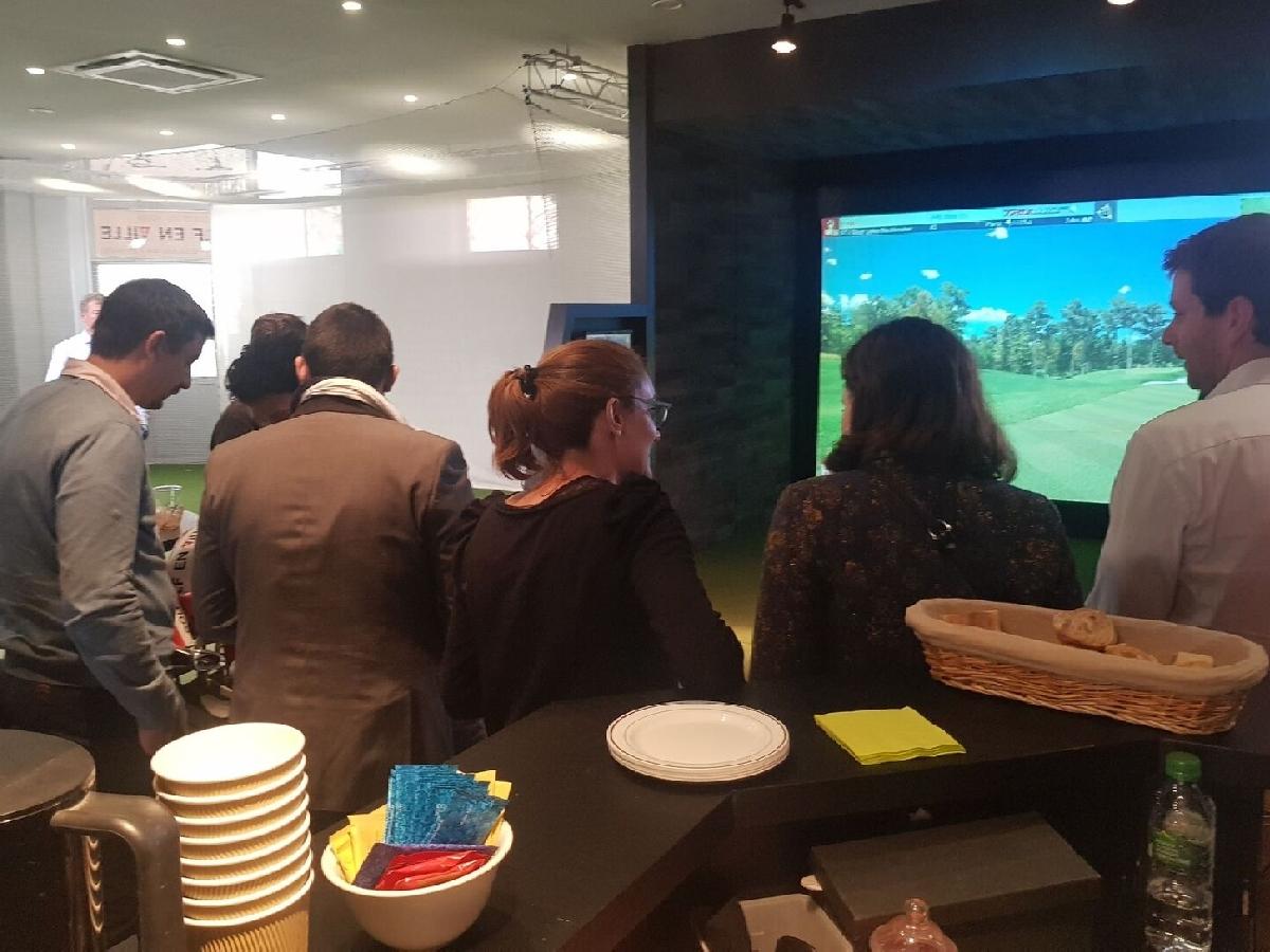 séminaire d'entreprise avec animation golfique