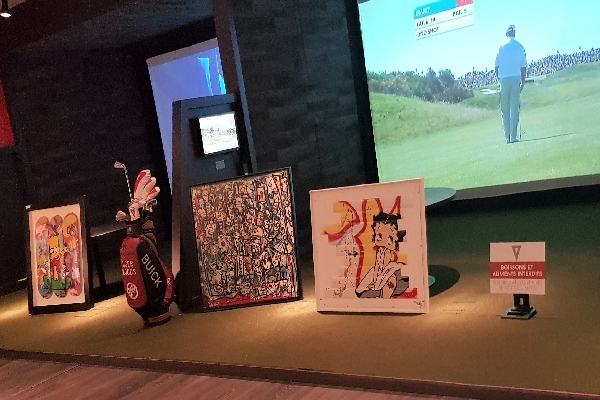 art exposition golf indoor paris