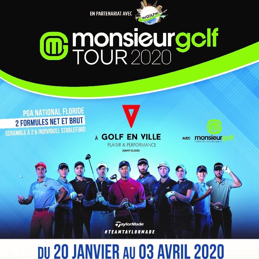 événement compétition monsieur golf tour