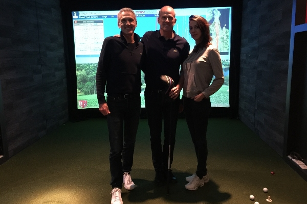 événement simulateur golf paris