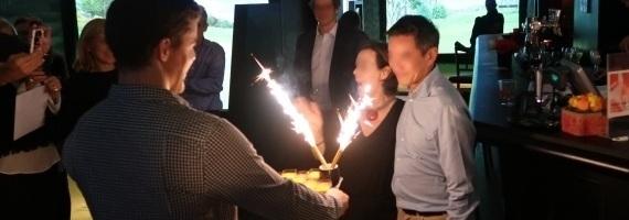 evenementiel anniversaire au golf indoor de Paris