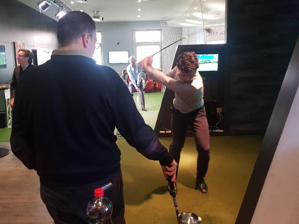 animation golfique séminaire d'entreprise proche paris