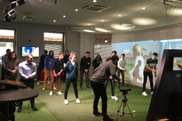 evenement seminaire golf initiation