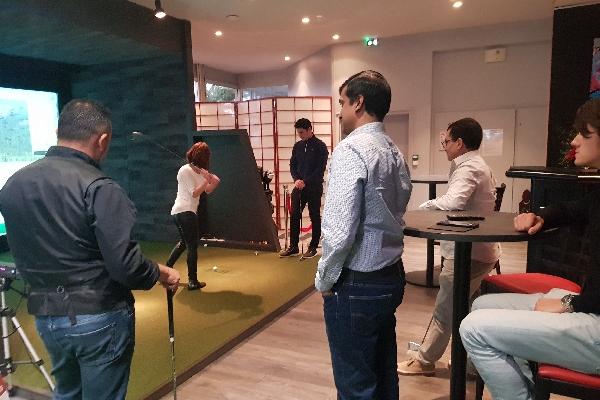 simulateur de golf événement proche de Paris