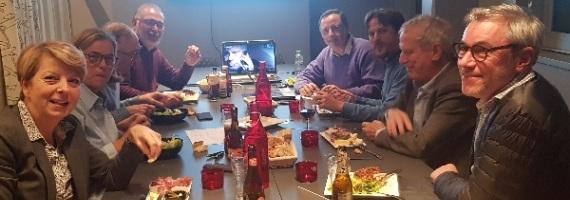 reunion d'association dans la salle de séminaire de Golf en Ville à Saint-Cloud