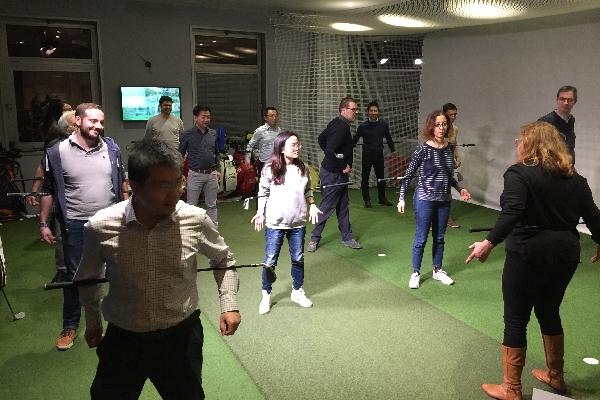 team-building avec animation golfique à Paris