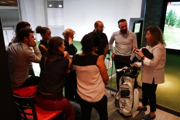 Seminaire Commercial avec Animation golfique à Paris