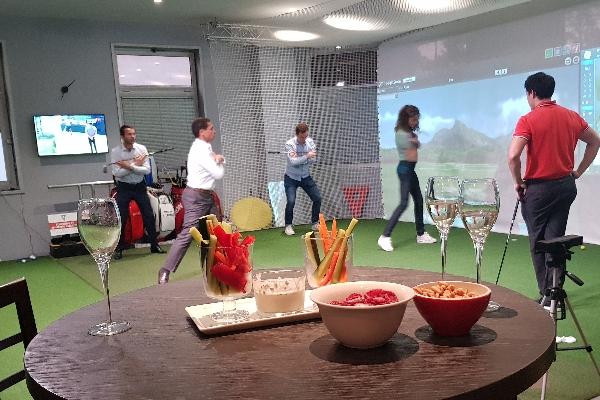 animation golfique à Saint-Cloud
