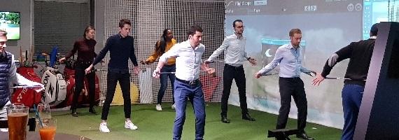 événementiel team building animation golf à Paris