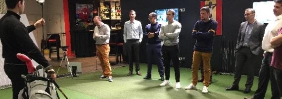 team building animation golf paris indoor