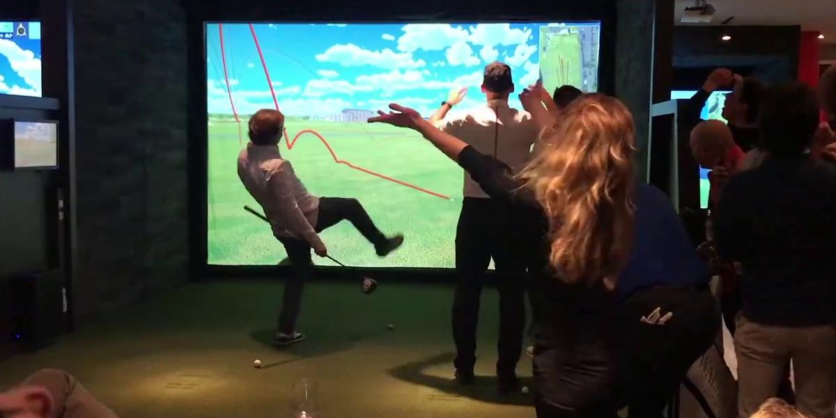 seminaire d'entreprise animation golfique rigolade