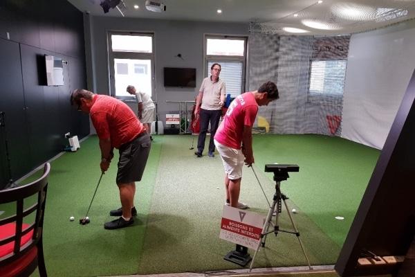 cours de puttng golf indoor paris