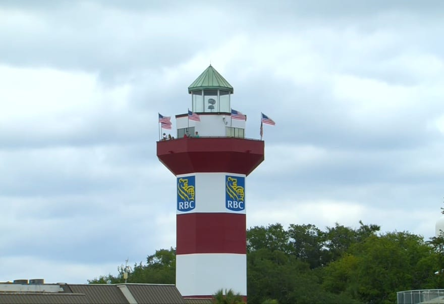 Hilton Head - Phare au bout du trou 18