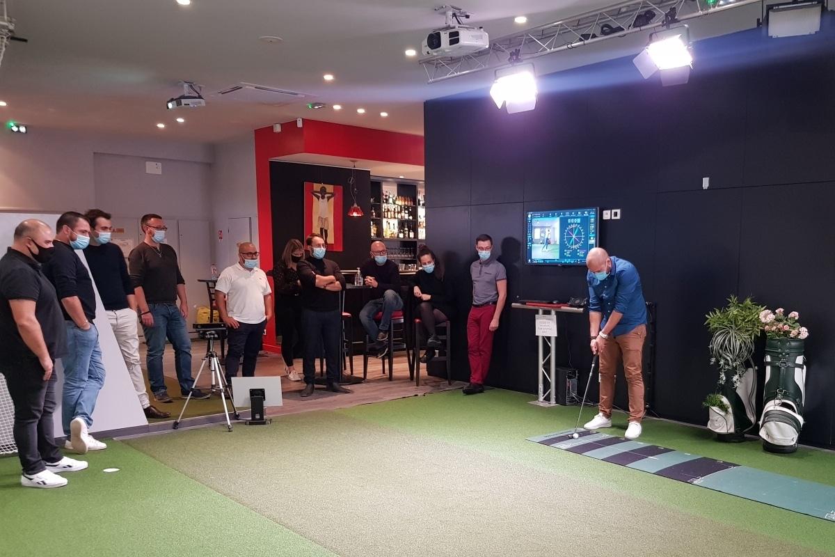 Team-building Vinci Facilities à Golf en Ville