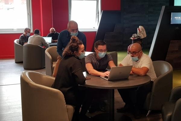 Team-building Vincifacilities à Golf en Ville