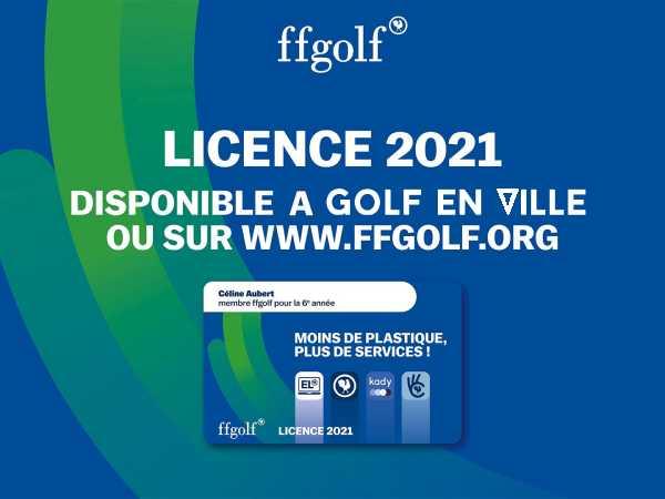 Licence ffgolf 2021