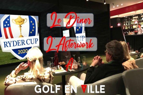 Soirées Ryder Cup Golf en Ville
